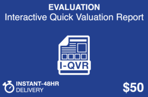 EVALUATION Interactive Quick Valuation Report