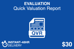 EVALUATION Quick Valuation Report