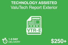 TECHNOLOGY ASSISTED ValuTech Report Exterior