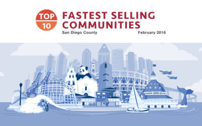 Top 10 Fastest Selling Communities Feb 2018