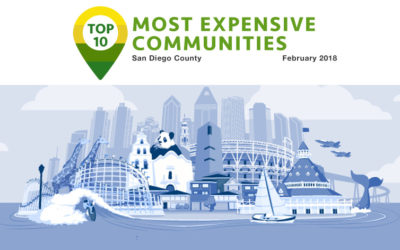 Top 10 Most Expensive Communities Feb 2018