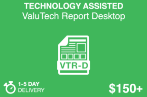 TECHNOLOGY ASSISTED ValuTech Report Desktop